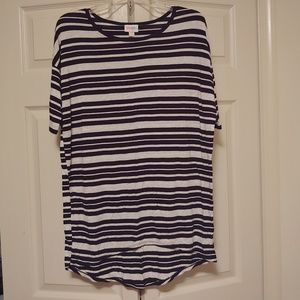 Striped Lularoe Irma